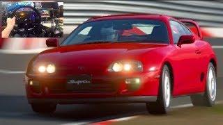 """GT Sport """"NEW"""" 1000hp Supra/Viper/FT1 vs Fanatec Sim RIG"""