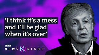Paul McCartney on Brexit and remembering Linda - BBC Newsnight