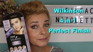 NEU Wilkinson Intuition 4 in 1 Perfect Finish | ich teste