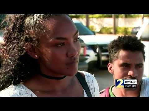 RAW VIDEO: Student talks about hearing gun shots inside Florida high school