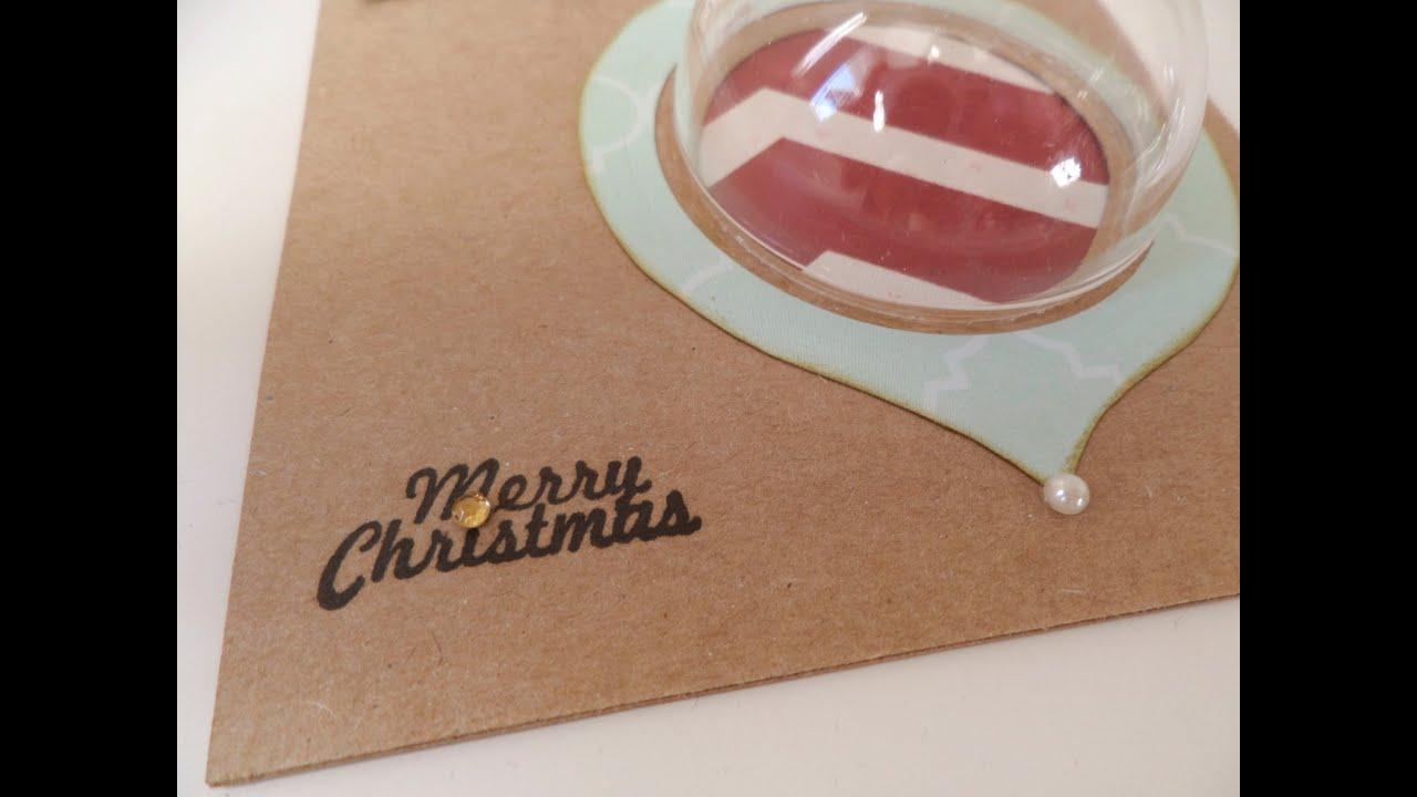 Cómo hacer una tarjeta regalo. Puente a la Navidad 2013. Día 2