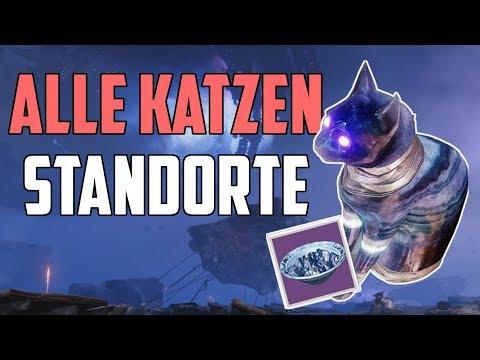 Destiny 2 Forsaken : Alle versteckten Katzen - Standorte 👣 | Ein kleines Geschenk