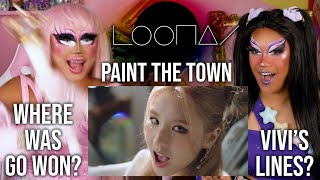 "K-POP REACT! LOONA - ""PTT (Paint The Town)"""