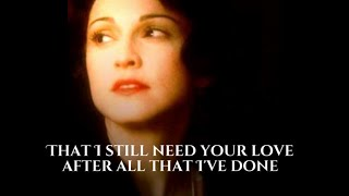 Don't cry for me Argentina - Madonna (With lyrics)