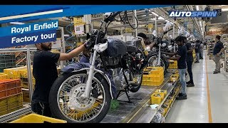 Royal Enfield Factory - Oragadam, India
