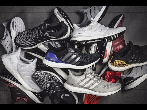 My Adidas Ultra Boost Collection