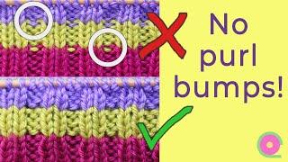 Changing yarn colors in ribbing.  [Useful knitting tip]