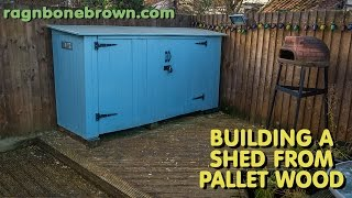 Building A Shed Using Pallet Wood - Part 1 of 3