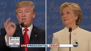 Third Presidential Debate Highlights | Trump Sexual Assault, Clinton Email Scandals