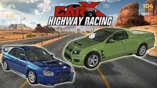 Мультики машинки гонки крутые игры детские игры для мальчиков Car X Highway Racing
