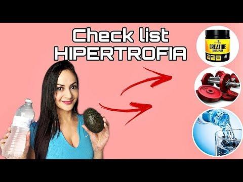 CHECK LIST DA HIPERTROFIA - Coisas que você precisa fazer todo dia para ganhar mais MASSA MAGRA