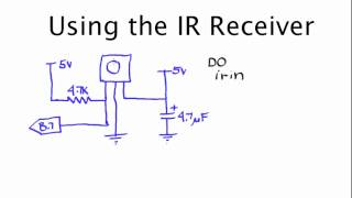 Using the IR Receiver