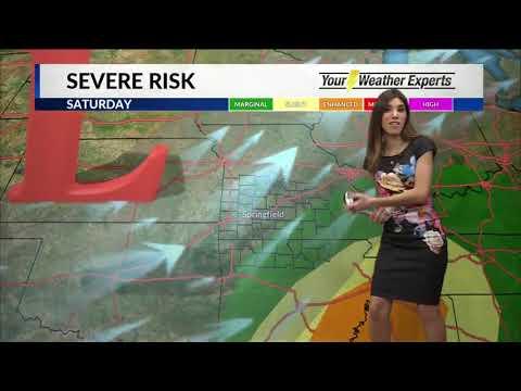 Elisa Raffa - KOLR10 Weather - Friday 5AM 1/18/19 - смотреть