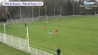 Pôle Rennes - Pôle Tours (4-1)