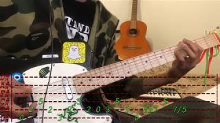 Lil Peep   Sex With My Ex Guitar Lesson (With Tabs)