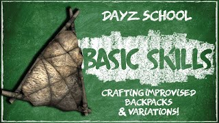 How to Craft Backpacks & Courier Bags In DayZ