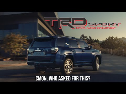 The 2022 Toyota 4Runner TRD Sport Is The 4Runner No One Asked For...At This Point Get A Highlander