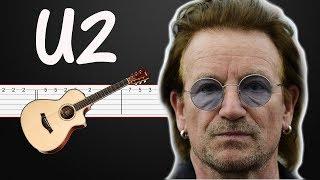Beautiful Day - U2 | Guitar Tabs, Guitar lesson + BASS guitar