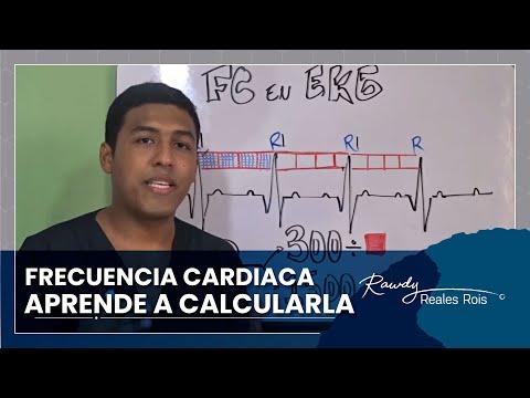 frecuencia cardiaca en el EKG.
