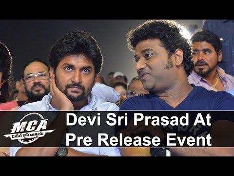 Devi Sri Prasad at MCA Pre Release Event