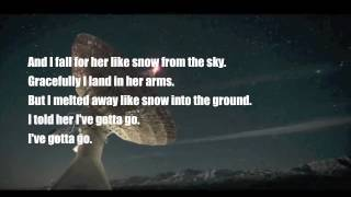 Chiodos- Notes In Constellations (Lyrics)