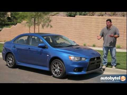2012 Mitsubishi Lancer Evolution: Video Road Test & Review