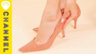 【ライフハック】100均アイテムで!痛いヒールを一発で解消する裏ワザ The Item To Free Yourself From High-heels.