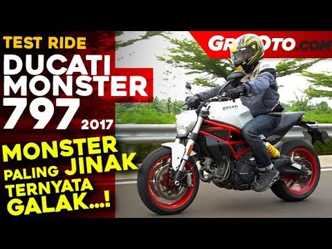 Ducati Monster 797 2017 Test Ride Review l GridOto