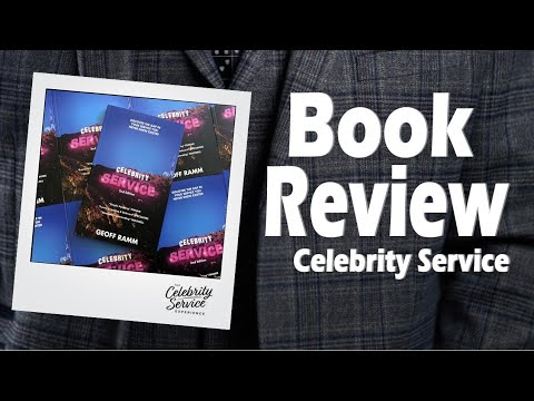 BOOK REVIEW Celebrity Service by Geoff Ramm  Roseanna Sunley Business Book Reviews