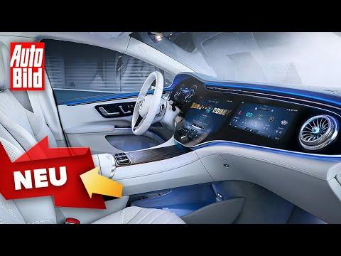 Mercedes EQS (2021)  Das bietet die elektrische S-Klasse ihren Insassen  Interieur-Vorstellung