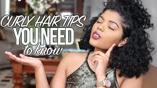 Winter Curly Hair Tips you NEED TO KNOW!