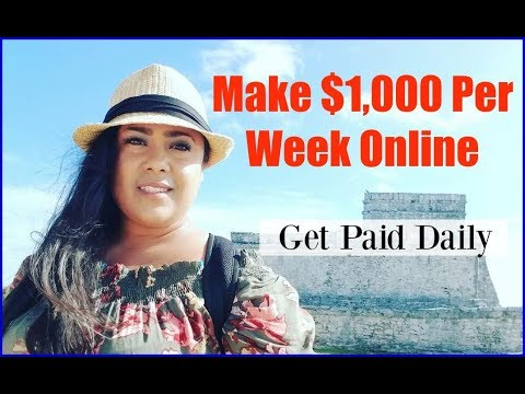 How To Make Money On The Internet Working From Home – Make Money Online Fast 2017 & 2018