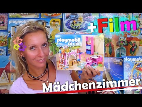 PLAYMOBIL 🛴 Fröhliches Kinderzimmer 9270 🤸‍♀️+ extra Film deutsch 🎥 Unboxing City Life