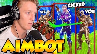 """TFUE Reacts to """"Getting Kicked from FaZe Clan for Aimbot"""""""