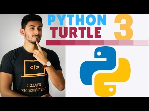 Learn Python Programming – 3 – The Turtle