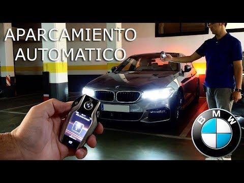 BMW   Asistente de aparcamiento desde la llave