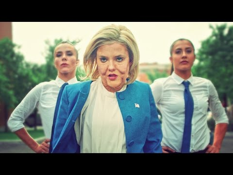 DONALD TRUMP VS HILLARY CLINTON DANCE BATTLE! // ScottDW - Born to Be