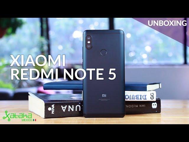 Xiaomi Redmi Note 5 llega a México, UNBOXING, primeras impresiones y precio oficial