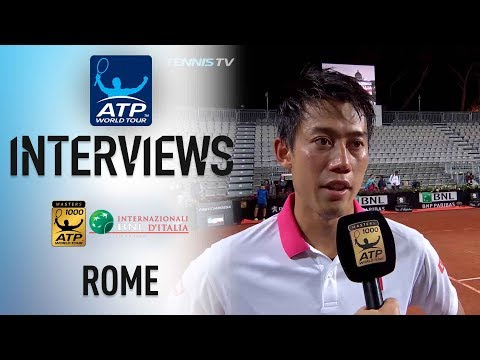 Nishikori Says He Played Nearly 'Perfect' To Advance In Rome 2018