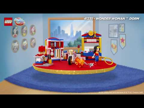 Vidéo LEGO DC Super Hero Girls 41235 : La chambre de Wonder Woman