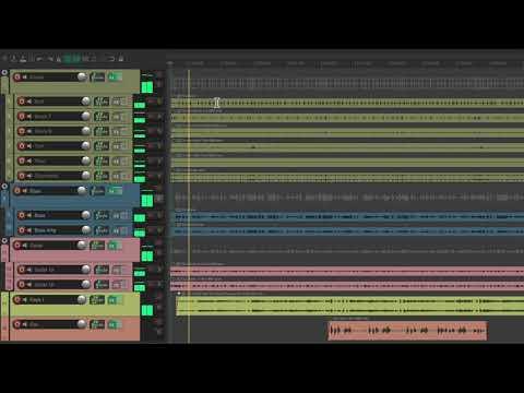 Top Down Mixing in REAPER