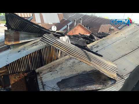 Three houses damaged in Hazratbal blaze