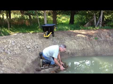Filling the Fishing Pond Expansion – Almost