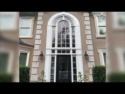 A video showing a complete front entry replacement with before and after pictures.