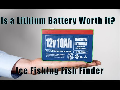 Honest Review: Dakota Lithium Ion Battery (Ice Fish Finder)