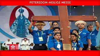 Papst Franziskus - Heilige Messe - Übergabe WJT-Kreuz, 22. November 2020