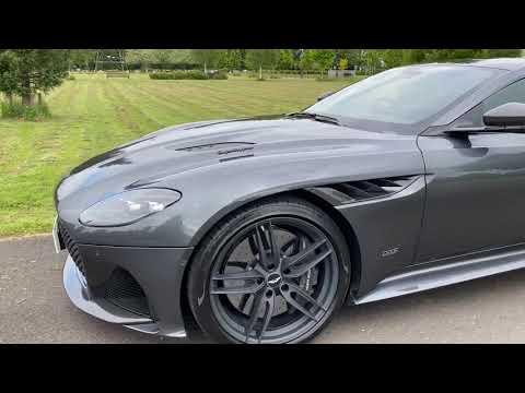 Aston Martin DBS Superleggera V12 Video