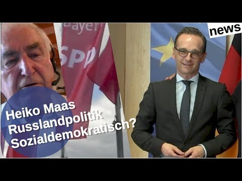 Ist Heiko Maas Russlandpolitik noch sozialdemokratisch? [Video]