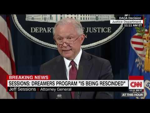 Trump administration ends DACA, calls it unconstitutional