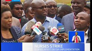 Nurses through KNUN rubbish court order to abolish their ongoing strike